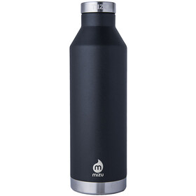 MIZU V8 Drinkfles with Stainless Steel Cap 800ml zwart